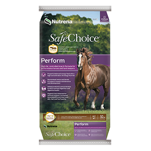 Nutrena SafeChoice Perform Horse Feed