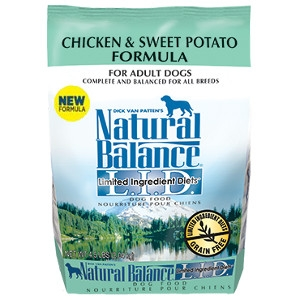 $6 Off Natural Balance Chicken & Sweet Potato 26lb