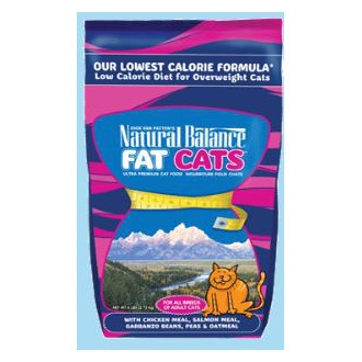 Natural Balance Fat Cats Low Calorie Dry Cat Food 6 lb.