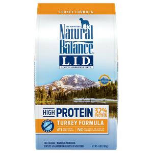 Natural Balance L.I.D. High Protein Turkey Formula Dry Dog Food