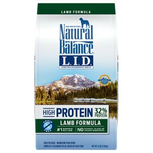 Natural Balance L.I.D. High Protein Lamb Formula Dry Dog Food