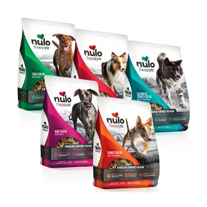 Nulo Freestyle Freeze Dried Raw Dog Food 13oz