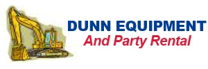 Dunn Equipment & Party Rental Logo