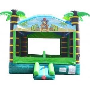 Tiki Bounce House