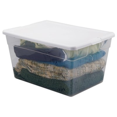 Sterlite 56 Qt. Clear Storage Box
