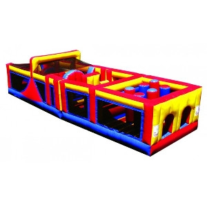 40 ft. Mega Obstacle Course Inflatable