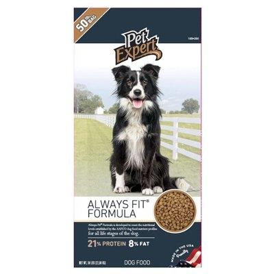 Pet Expert Dry Dog Food, 50 lbs.
