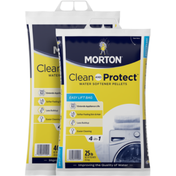 Morton® Clean and Protect™ Water Softener Pellets, 40 lbs.