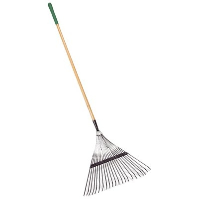 Green Thumb Classic Plus Leaf Rake, 48-In. Handle