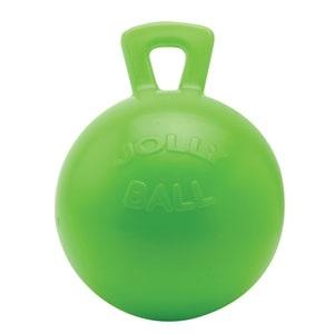 """9"""" Jolly Ball Horse Play Apple"""