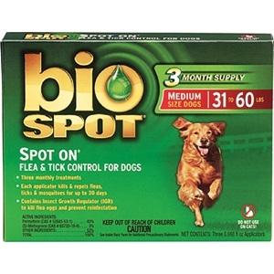 BIO SPOT SPOT-ON 31-60 POUND