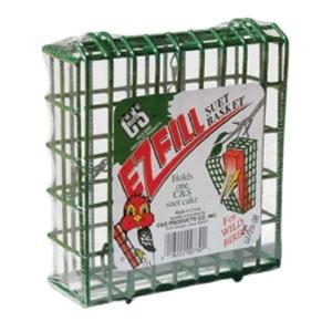 Ez Fill Suet Basket Green