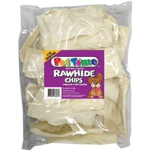 NATURAL RAWHIDE CHIPS