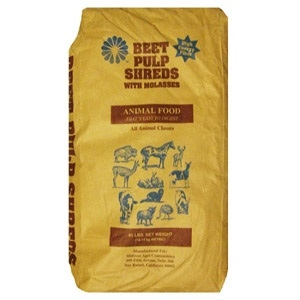 Shredded Beet Pulp with Molasses