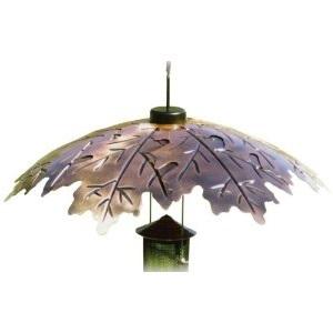Bird Feeder Weather Shield Brown