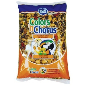 Color N Chorus Parrot Food