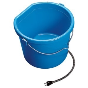 Heated Flatback Bucket 5 gal.