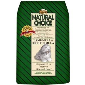 Nutro Natural Choice Lamb and Rice Dog Food