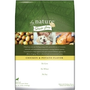 By Nature® Natural Grain-Free Chicken & Potato Dog Food