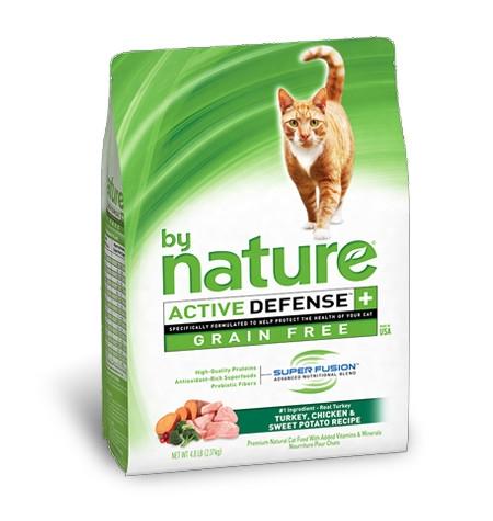 By Nature Grain Free Turkey, Chicken & Sweet Potato Recipe Cat Food