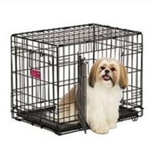 LifeStages® Double Door Dog Crate 30 x 21 x 24