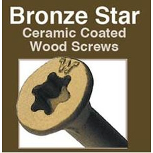 Big Timber Bronze Star Deck Screws