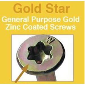 Big Timber Gold Star Deck Screws