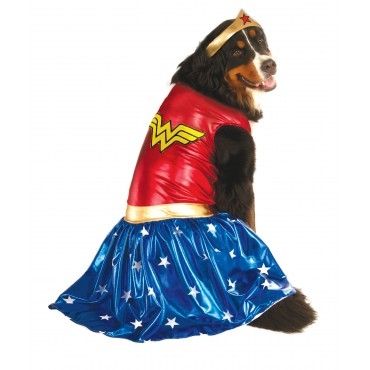 Rubie's Costume Company Big Dogs Pet Wonder Woman Costume