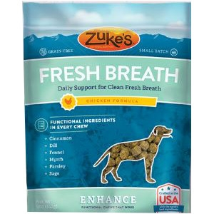 Zuke's® Enhance Fresh Breath Functional Chews