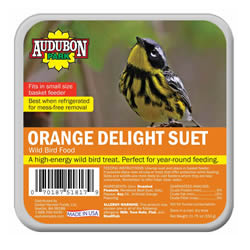 Audubon Orange Delight Suet