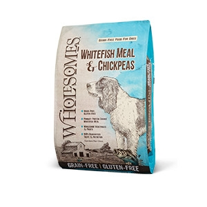 Wholesomes™ Grain-Free Whitefish Meal and Chickpeas Recipe for Dogs