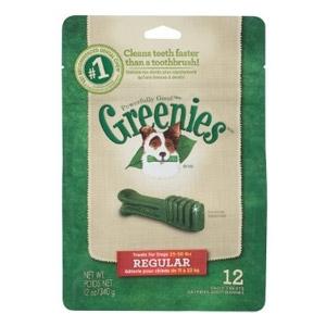 Greenies Dental Treats Regular Size for Dogs