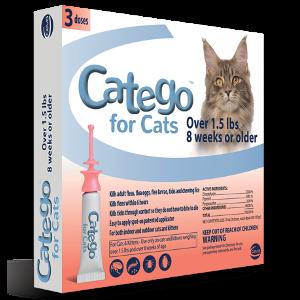 Catego® Flea & Tick Control for Cats