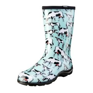 Women's Rain & Garden Boot - Mint Cowabella