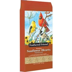 Feathered Friends® Sunflower Hearts Bird Seed