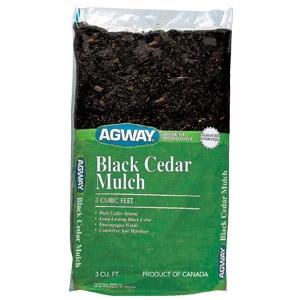 Agway® Black Cedar Mulch