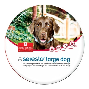 Seresto® Large Flea & Tick Collar for Dogs