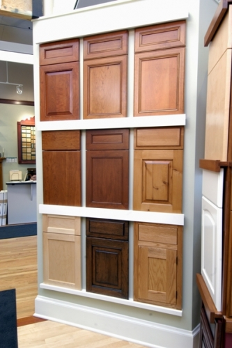 Cabinet door style display