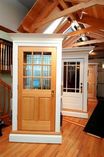 Cabinet door style display