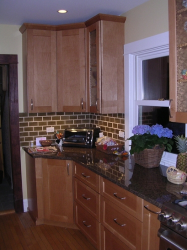 Cabinets & counter