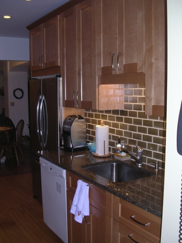 Sink & cabinet view 2