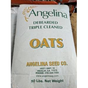 Angelina Debearded Triple Cleaned Oats 50 lb. Bag