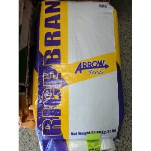 Arrow Feeds Persimmon Rice Bran 50 lb. Bag