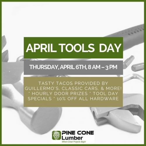April Tools Day