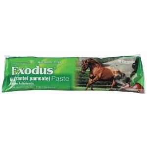 Exodus® Paste (Pyrantel Pamoate) Equine Dewormer