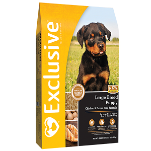Exclusive® Chicken & Rice Large Breed Puppy Formula