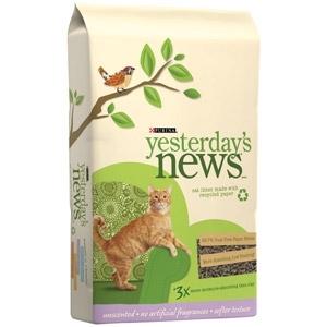 Yesterday's News Cat Litter