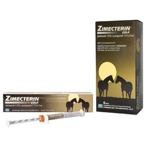 Zimecterin Gold Paste Equine Dewormer
