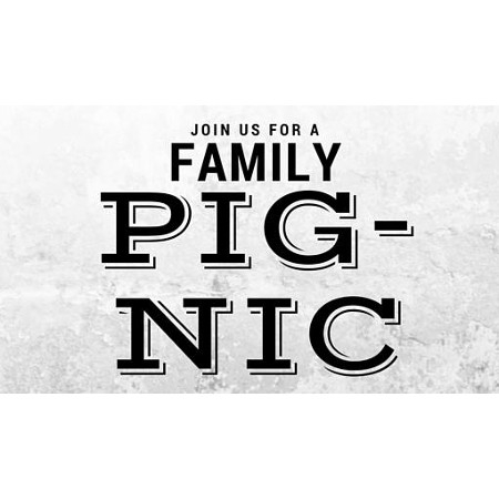 Join us for a Pig-Nic