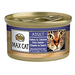 Nutro Max™ Adult Cat Food Turkey & Chicken Liver Entrée Chunks In Sauce